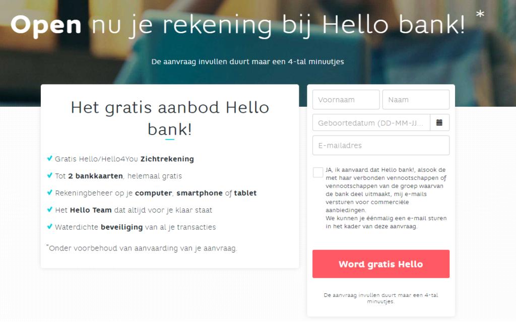 Hello bank vikingpunten gratis bellen