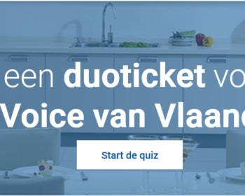 Win Tickets the voice vlaanderen