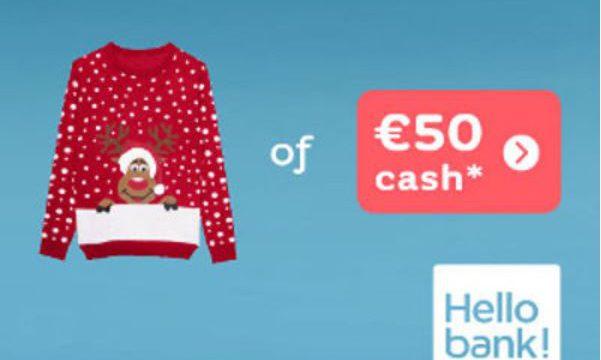 Kersttrui 20 Euro.Gratis Kersttrui In Bomma Stijl Of 50 Bij Hello Bank Gratis En