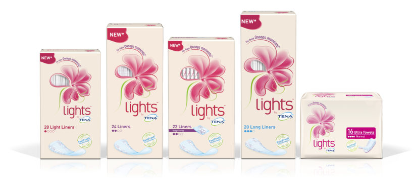 gratis staaltjes tena lights urineverlies