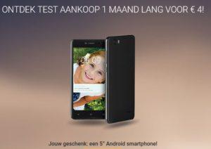 gratis smartphone testaankoop