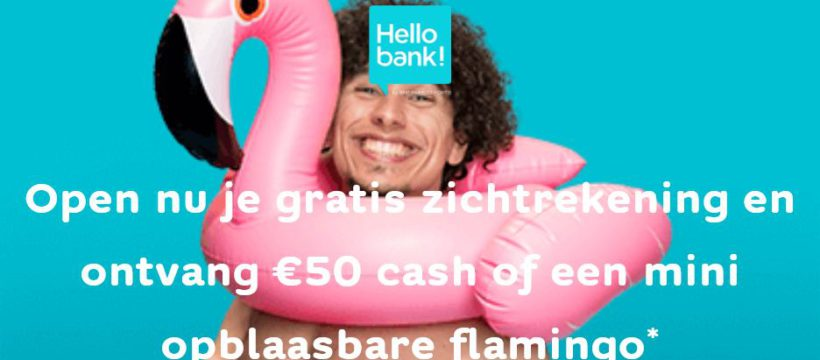 Hellobank 50€ gratis