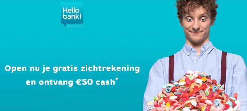 50€ Hellobank