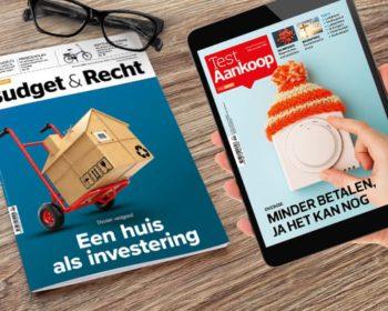 Testaankoop Budget en Recht Test Gezond Magazine